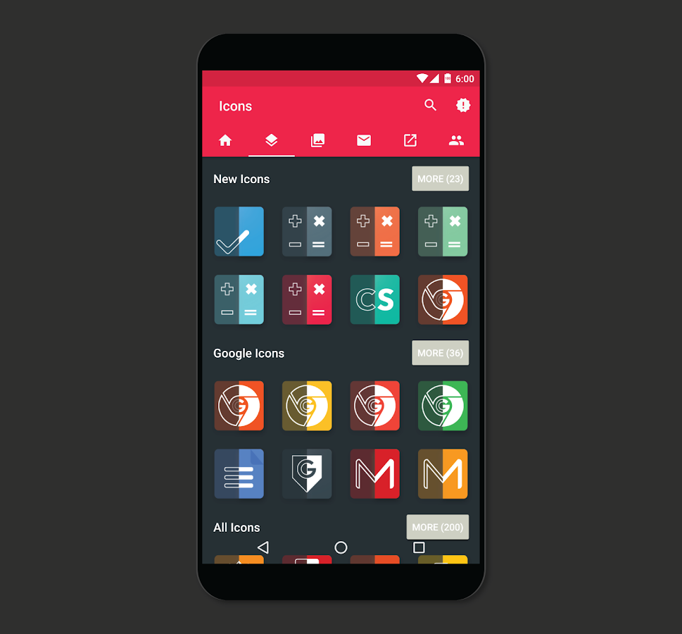 Meta Iconpack Beta Screenshot 1