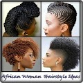 African Woman Hairstyle Ideas
