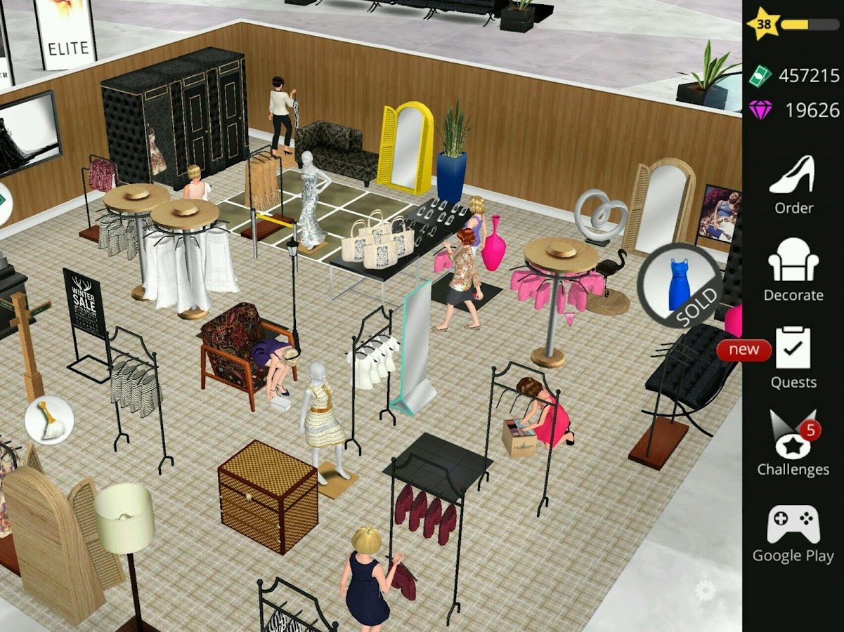 Fashion Empire - Boutique Sim Screenshot 10
