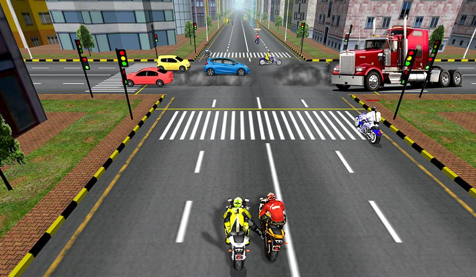 Bike Attack Race : Stunt Rider Screenshot 15