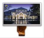 3.5, 4, 4.3, 5, 7, 10.1 Inch TFT LCD Module, 24bit RGB Interface, Color LCD Display
