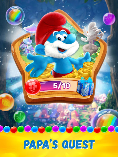 Smurfs Bubble Shooter Story screenshot 14
