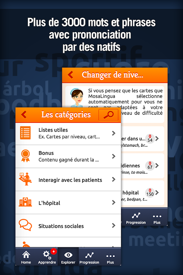Anglais Médical - MosaLingua Screenshot 3