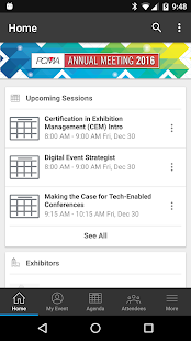 PCMA Events - screenshot