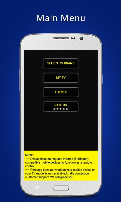Universal TV Remote ControlPRO Screenshot