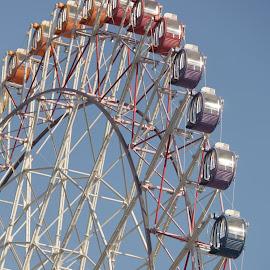 Ferris Wheel at Rinku by Michael Loi - Novices Only Objects & Still Life ( rinku, japan, ferris wheel )