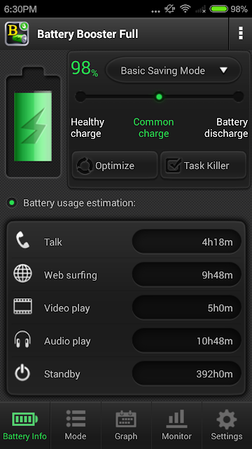 Battery Booster (Full) screenshots