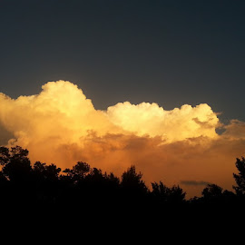 I love summer thunderheads. by Douglas Emo - Landscapes Cloud Formations