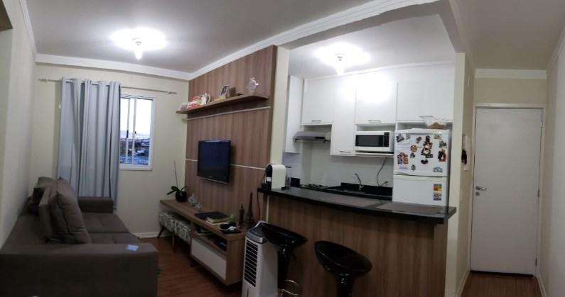 Lindo apartamento em Hortolândia, 2 quartos,oportunidade, aceita FGTS e Financiamento.
