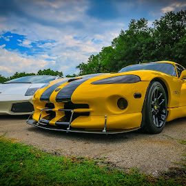 Road to Hope - Speed by Ron Meyers - Transportation Automobiles