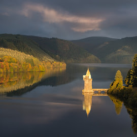 Lake Vyrnwy, morning light by Brad Cheek - Landscapes Waterscapes ( colour, water, tranquil, lake, light )