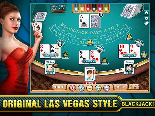 BlackJack Multiplayer Vegas! - screenshot