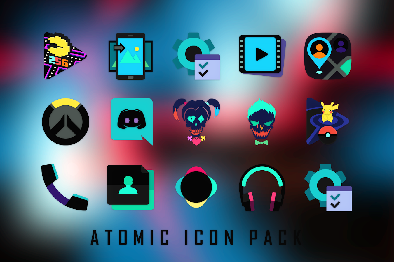 Atomic Icon Pack Screenshot 10