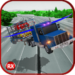 Flying Truck: Car Transporter 1.0 Apk