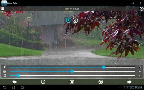 Rain Sounds ~ Relaxing Rain- screenshot thumbnail
