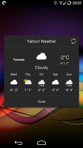 Chronus: Flat Weather Icons screenshot 2