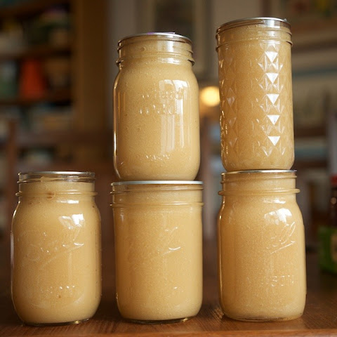 Low Sugar Apple Ginger Butter