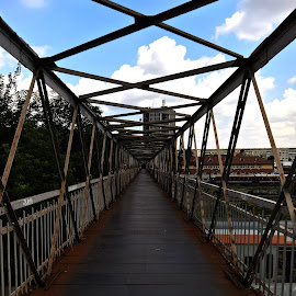 Feroviar bridge by Irina Stoica - City,  Street & Park  Street Scenes ( bridge )