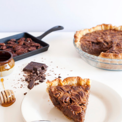 Malted Chocolate Pecan Pie