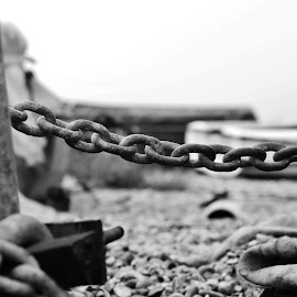 Old chain by Peter Salmon - Artistic Objects Other Objects