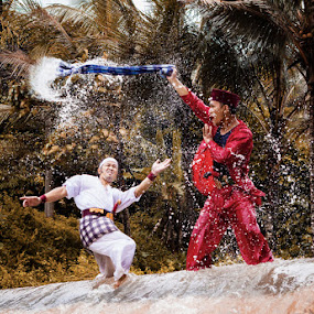 Water War by Aloysius Alphonso - People Group/Corporate