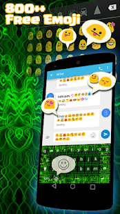 Electrick Emoji Keyboard - screenshot