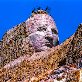 Crazy Horse Memorial by Stanley P. - Buildings & Architecture Statues & Monuments ( monuments, statues, architecture )