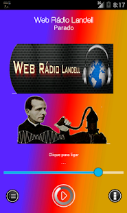 Web Rádio Landell - screenshot