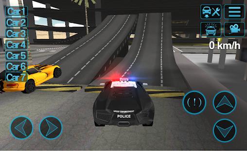 Police Car Driving Sim APK for Bluestacks