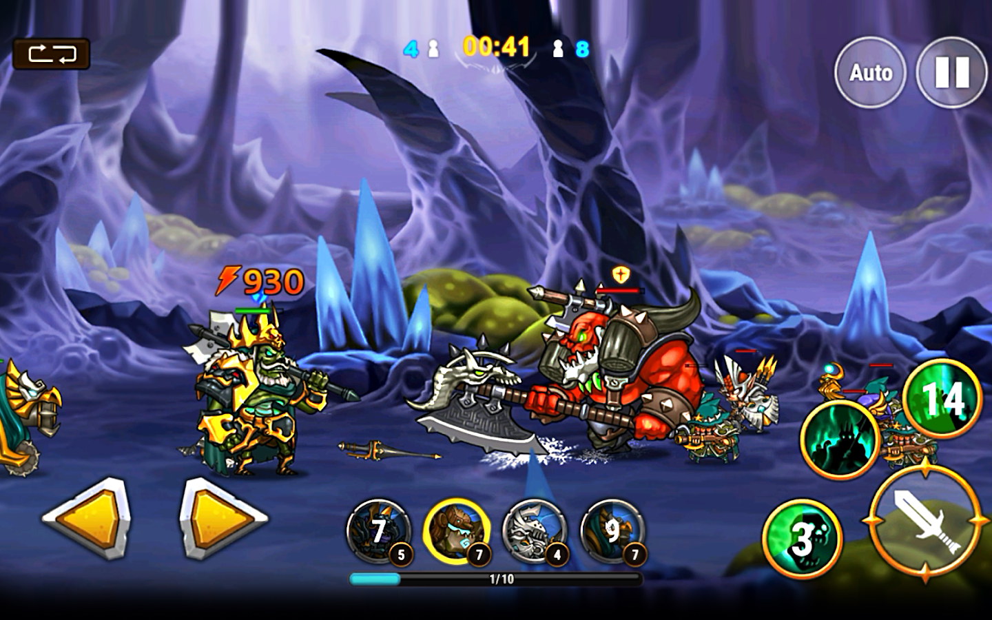 God of Era: Heroes War (GoE) Screenshot 14