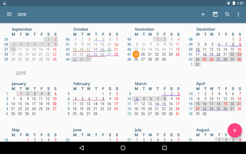 aCalendar+ Calendar & Tasks Screenshot 13