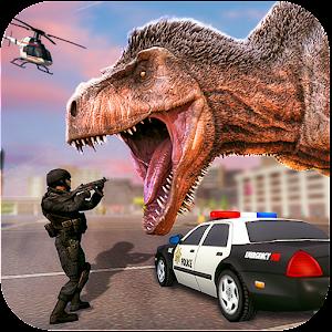 Dinosaur Simulator: City Battleground For PC / Windows 7/8/10 / Mac – Free Download