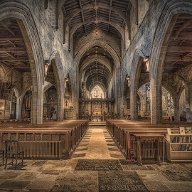 Newcastle Cathedral by Adam Lang - Buildings & Architecture Places of Worship ( church, holy, newcastle, cathedral, st nicholas' )