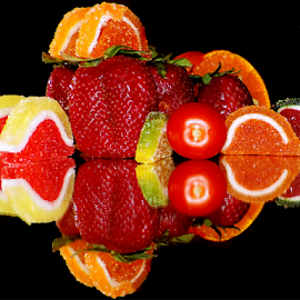 fruits,vegetables with candys by LADOCKi Elvira - Food & Drink Fruits & Vegetables ( candys, fruits )