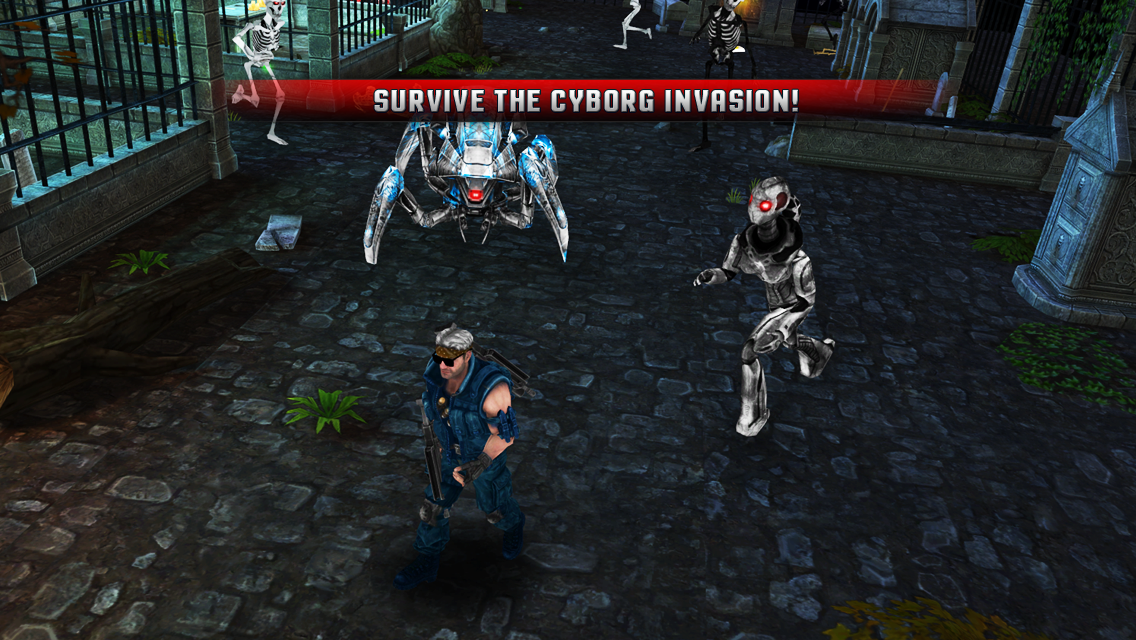 Cyborg Assassin Screenshot 0