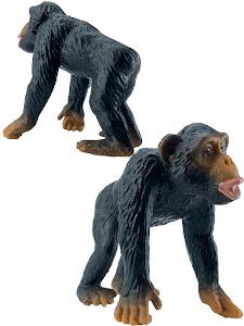 """Игрушка-фигурка серии """"Город Игр"""", шимпанзе M2, смотрит прямо"""