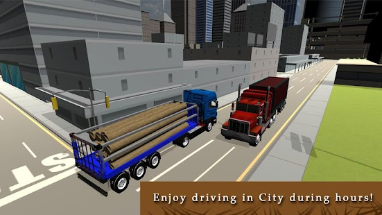 Ultimate Cargo Truck Driver 3D - screenshot