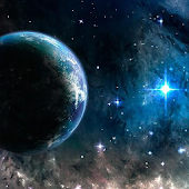 stars and planets wallpaper APK for Bluestacks