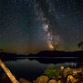 Lost Lake Summer Solstice by Jorge Pacheco - Landscapes Starscapes