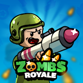 9.  ZombsRoyale.io - 2D Battle Royale