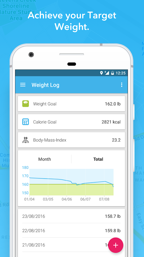 FITAPP Running Walking Fitness Screenshot 4