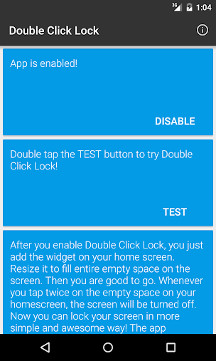 Double Click Lock APK