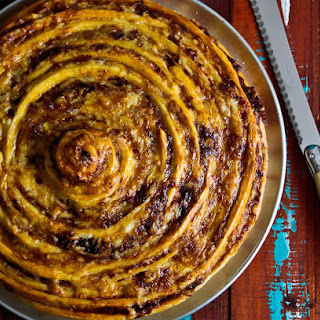 Giant Cheese & Vegemite Scroll!