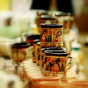 Cups by Debajit Bose - Artistic Objects Cups, Plates & Utensils ( porciline, surajkund fair, cups, breakable, india )