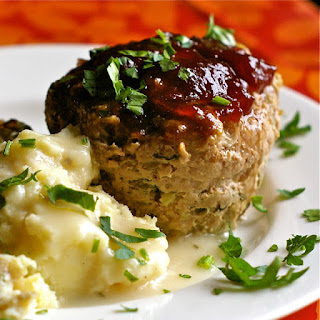 Cranberry Glazed Meatloaf With All The Trimmings