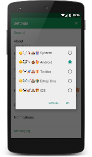 Chomp Emoji – Android Style