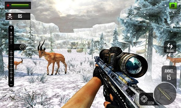 Sniper Deer Hunting Modern FPS Shooting Game APK screenshot thumbnail 1
