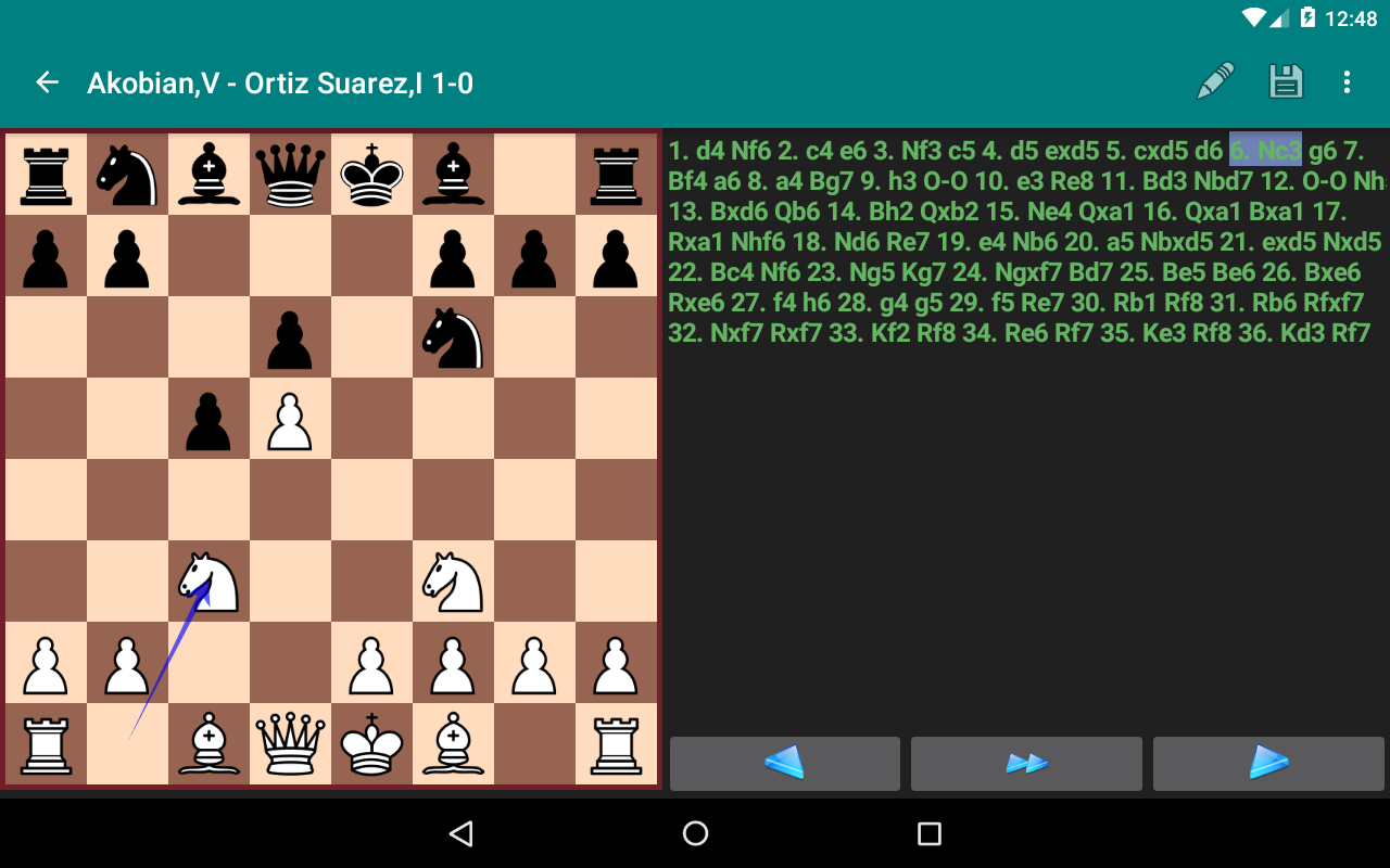 Perfect Chess Database Screenshot 16
