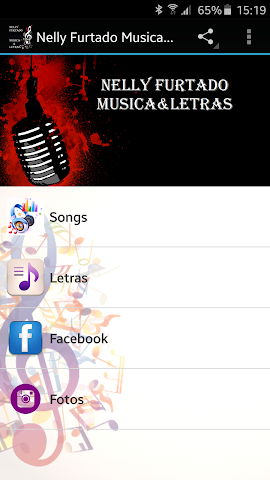 android Nelly Furtado Musica&Letras Screenshot 0