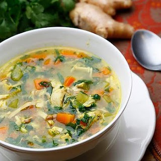 Cold-busting Chicken Soup